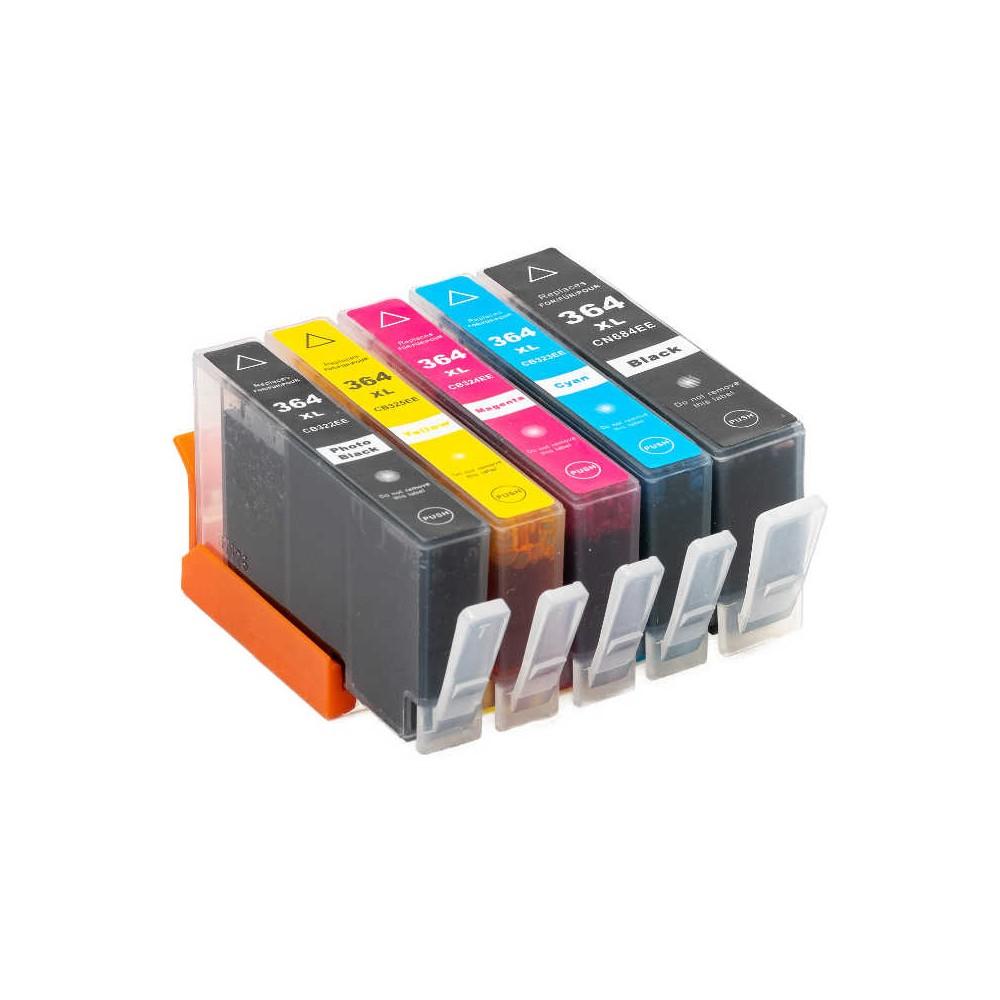 364 XL Nero Fotografico Cartuccia inkjet compatibile