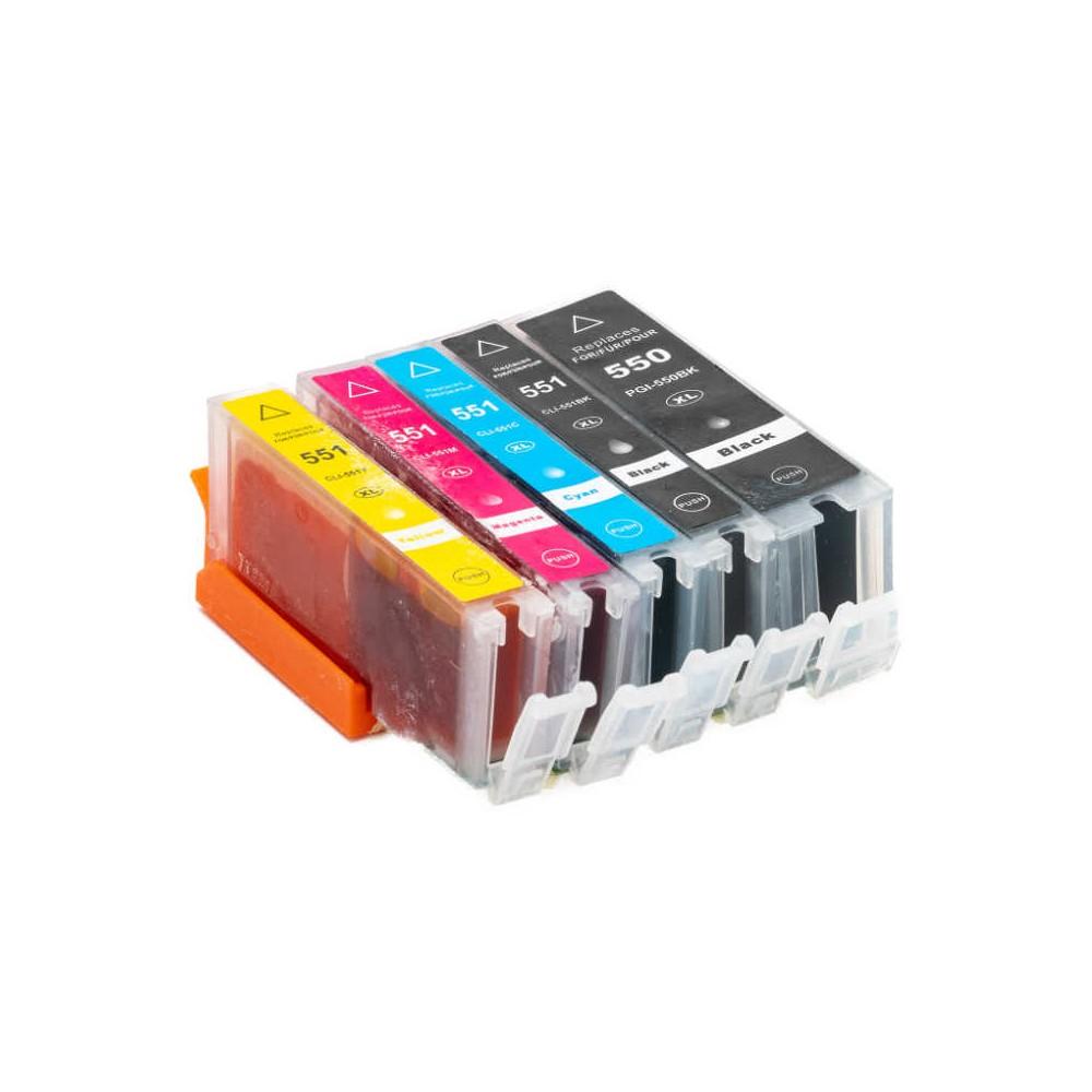 551XL Giallo Cartuccia inkjet compatibile