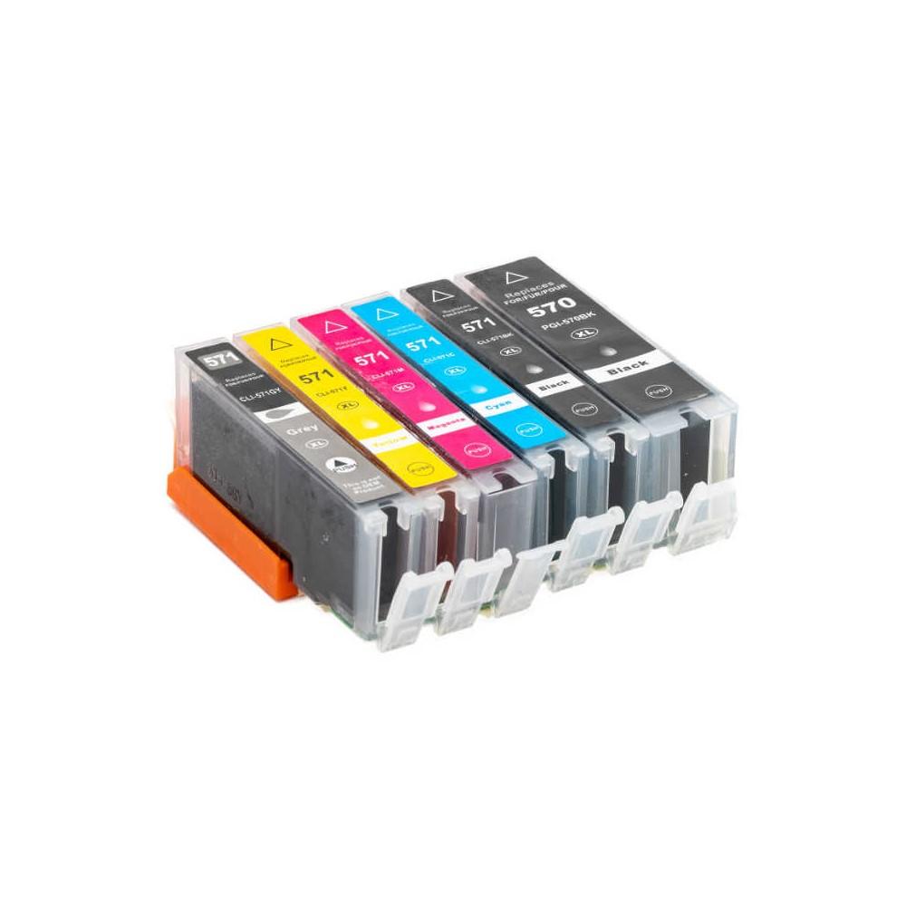 571XL Grigio Cartuccia inkjet compatibile