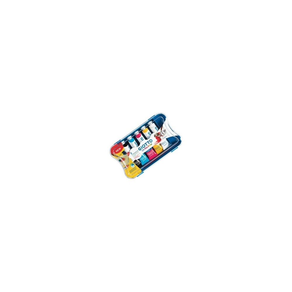 Tempere Giotto 5 tubetti da 21ml