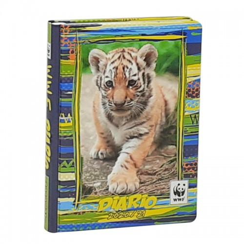 WWF Diario Datato Standard 12 mesiTigrotto