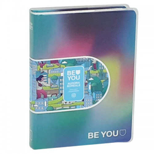 Diario Be You Aurora Boreale Original  Standard