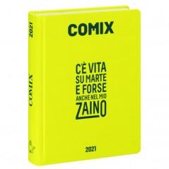 Diario Comix Mini 16 mesi Giallo Fluo