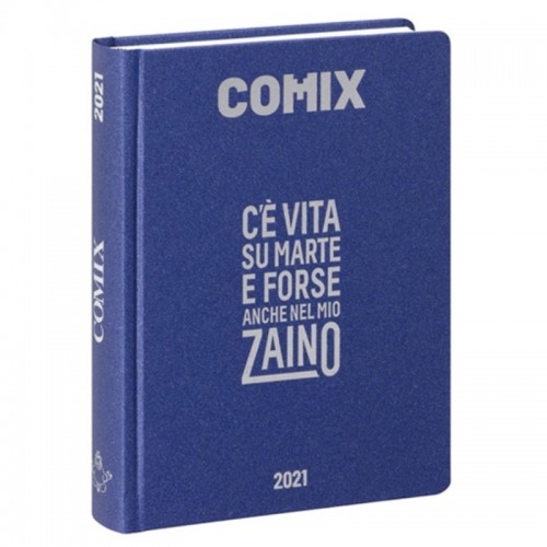 Diario Comix Standardl 16 mesi Blu
