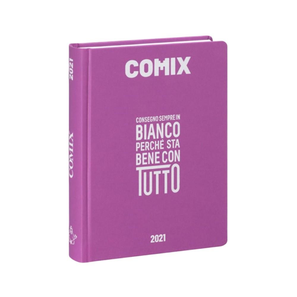 Diario Comix Standardl 16 mesi Fucsia