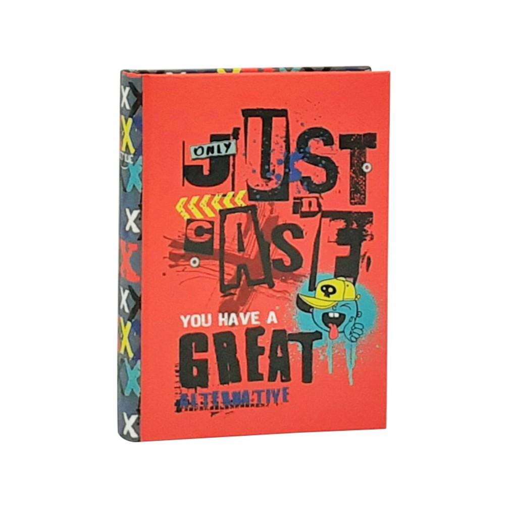 Diario Just Case Rosso