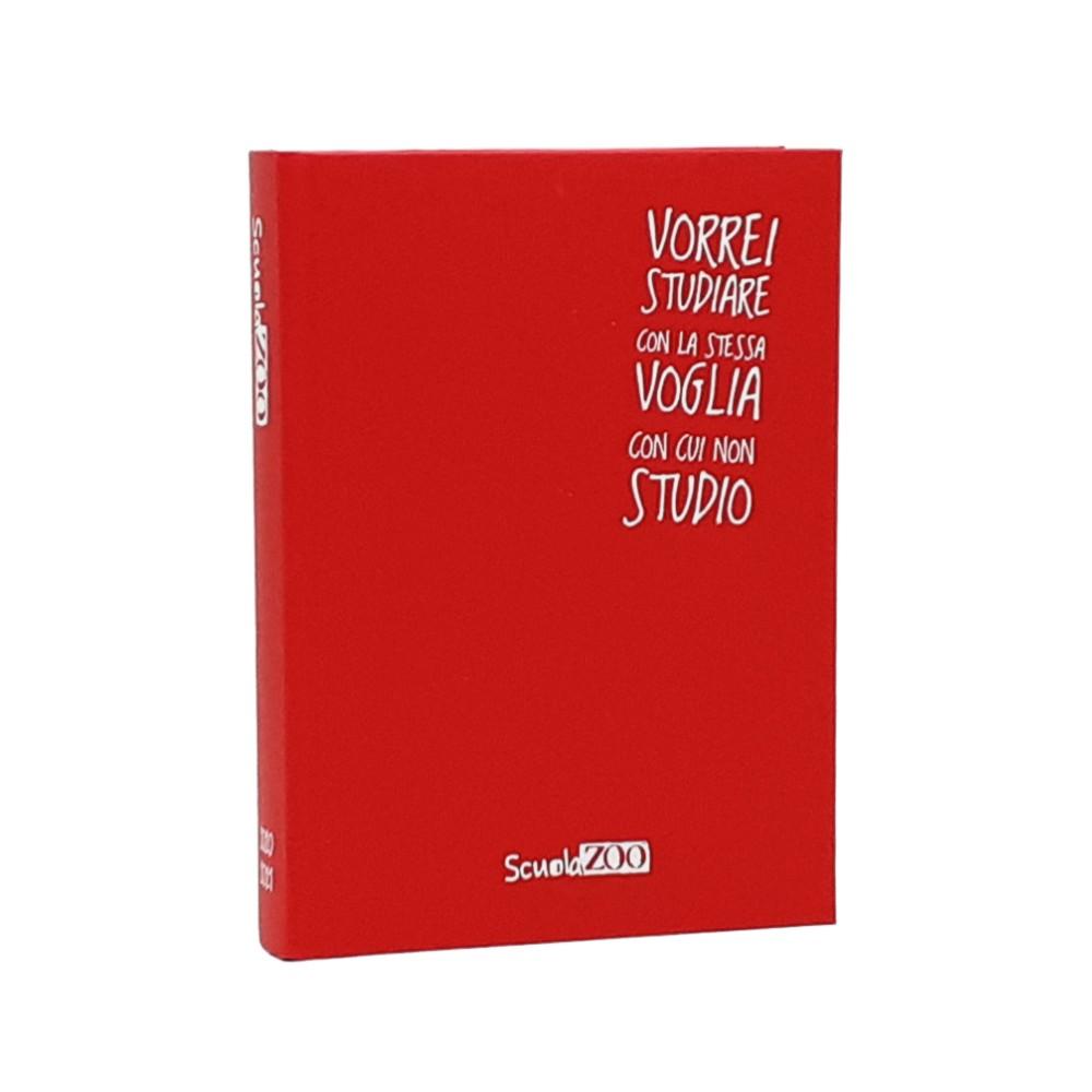 Diario Scuolazoo 11x15 Rosso