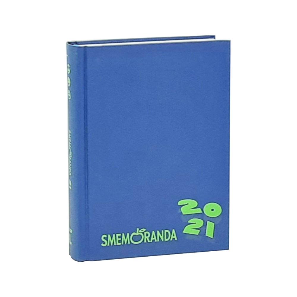 Diario Smemoranda 13x18 16 mesi Blu