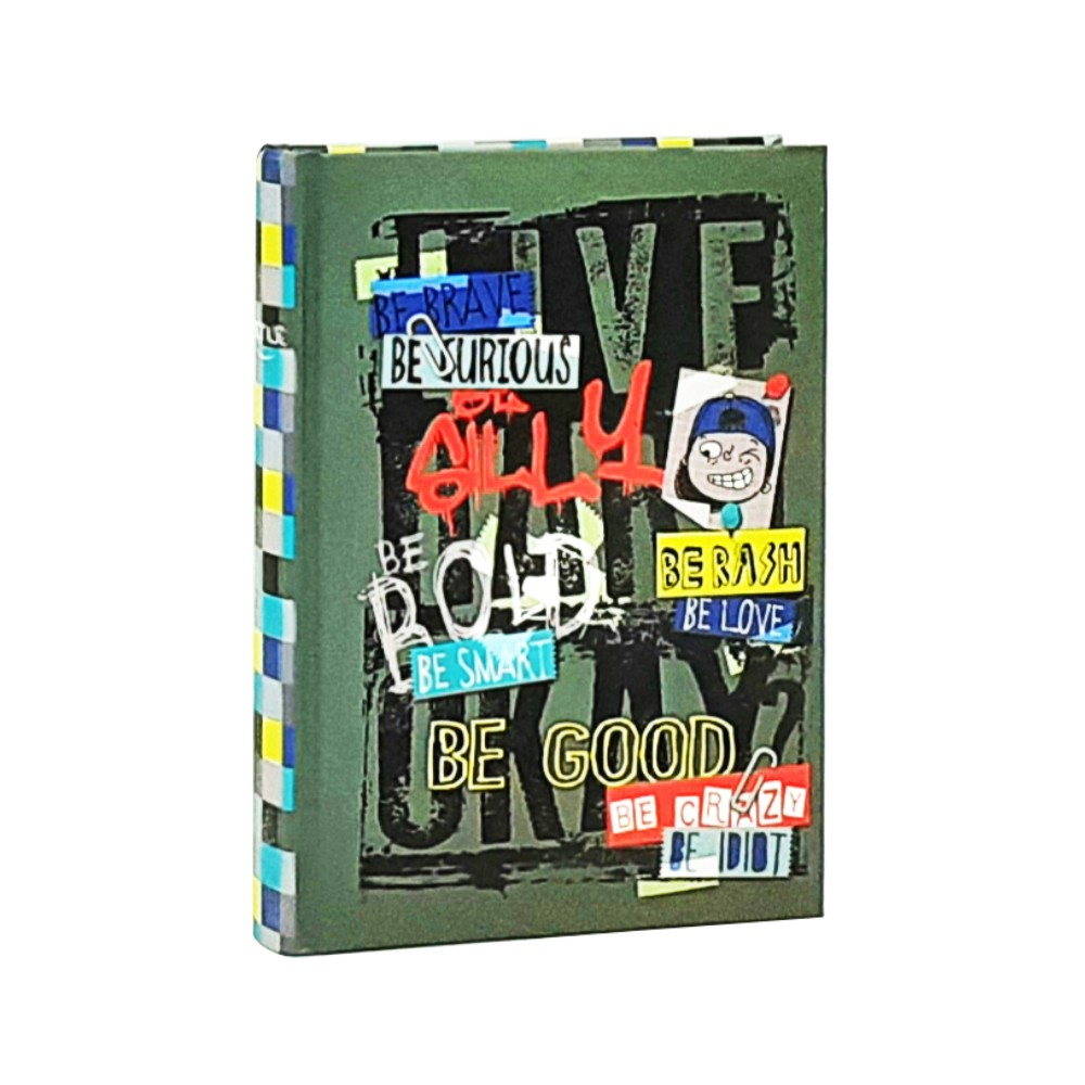 Diario Teen Boy Verde